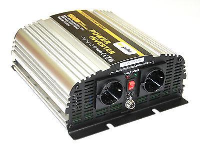 Spannungswandler MS 12V 1500/3000 Watt Inverter Wechselrichter NEU