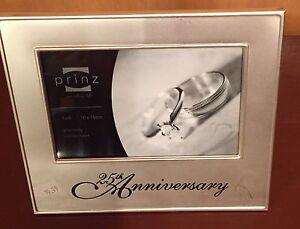 25th Anniversary Frame