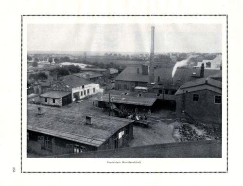Engineering works Szczecinek XL 1924 ad Brandenburg Brothers Neustettin +