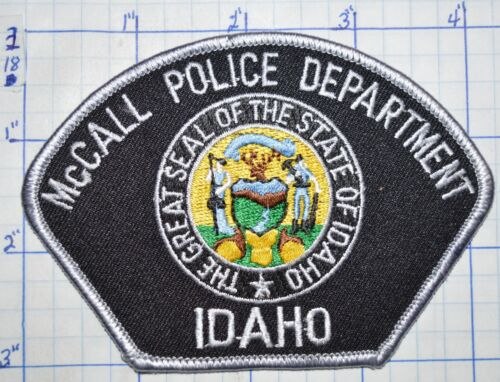 IDAHO, McCALL POLICE DEPT PATCH