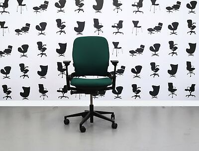 Refurbished Steelcase Leap V2 Chair - Taboo -yp045