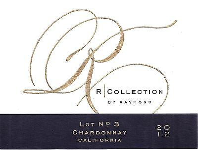 R Collection Chardonnay 2012 Wine Bottle Labels