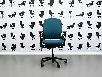 Refurbished Steelcase Leap V2 Chair - Montserrat - YP011