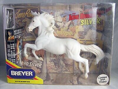 "Breyer Horse No. 574 Hollywood Heroes Series ~ The Lone Ranger's ""SILVER"" Sealed"