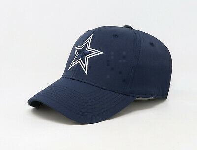 Tactel Flex-cap (REEBOK NFL Dallas Cowboys Basic Tactel Flex White Hat Cap TX01Z)
