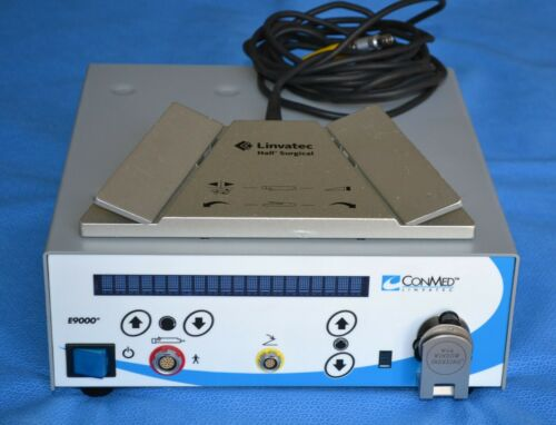 Conmed Linvatec E9000 Controller with Footswitch 5020-053