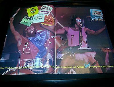 Cheech and Chong Up In Smoke Soundtrack Rare Original Promo Poster Ad