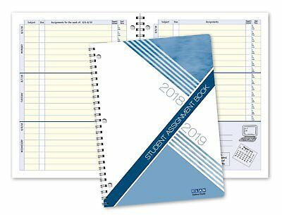 Middle Or High School Student Planner 2018-2019 Da40