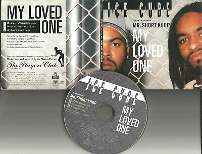 Ice Cube   Mr  Short Khop My Loved One Clean   Instrumental   Acapella Promo Cd