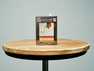 NFL Washington Redskins Football Team Sports Playing Cards Deck Sealed Box D.C.