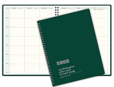 Combination Plan and Record Book (PR7-10) (Green)