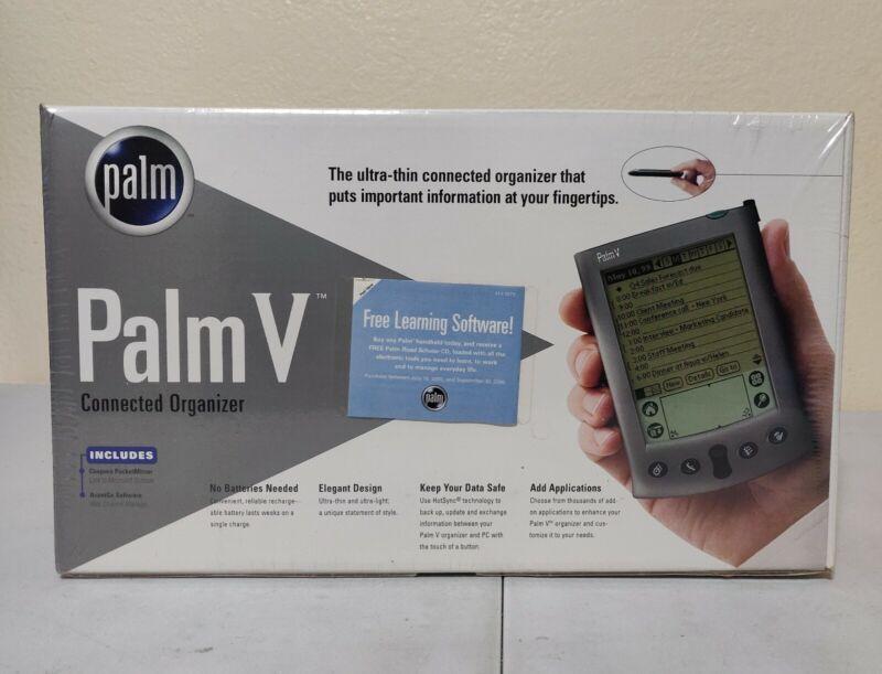 Palm V Ultra Thin Handheld PDA 1999 Palm V Connected Organizer Brand New Sealed