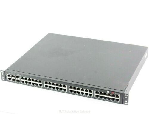 BROCADE ICX6450-48P 48 Port POE Switch 2x 10GB SFP+ Ports - 2x 1GB SFP 6450-48P
