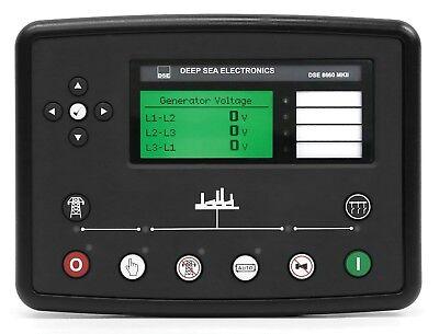 Dse Deep Sea Electronics Dse8660 Mkii Auto Transfer Switch Mains Utility Control