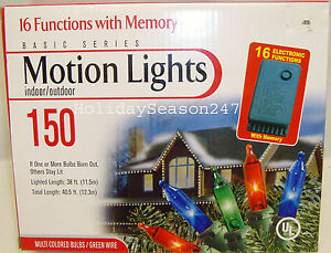 Multi Function Christmas Lights Ebay