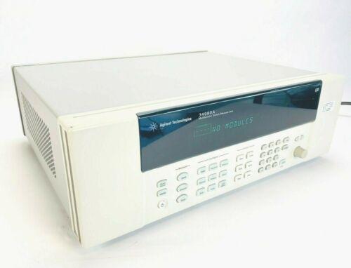 Agilent Technologies Keysight 34980A Multifunction Switch / Measure Unit