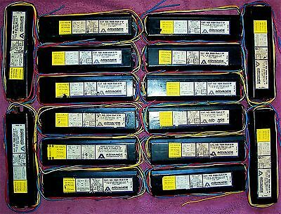 Lot Of 16 Advance Fluorescent Light Ballasts F40 Rqm-2s40-3-tp  Stock 39