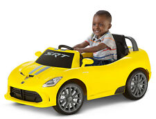 6V Dodge Viper Battery Powered Ride On, Yellow