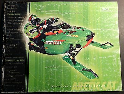 2002 ARCTIC CAT SNOWMOBILE SALES & ACCESSORIES BROCHURE 100 PAGES  (607)