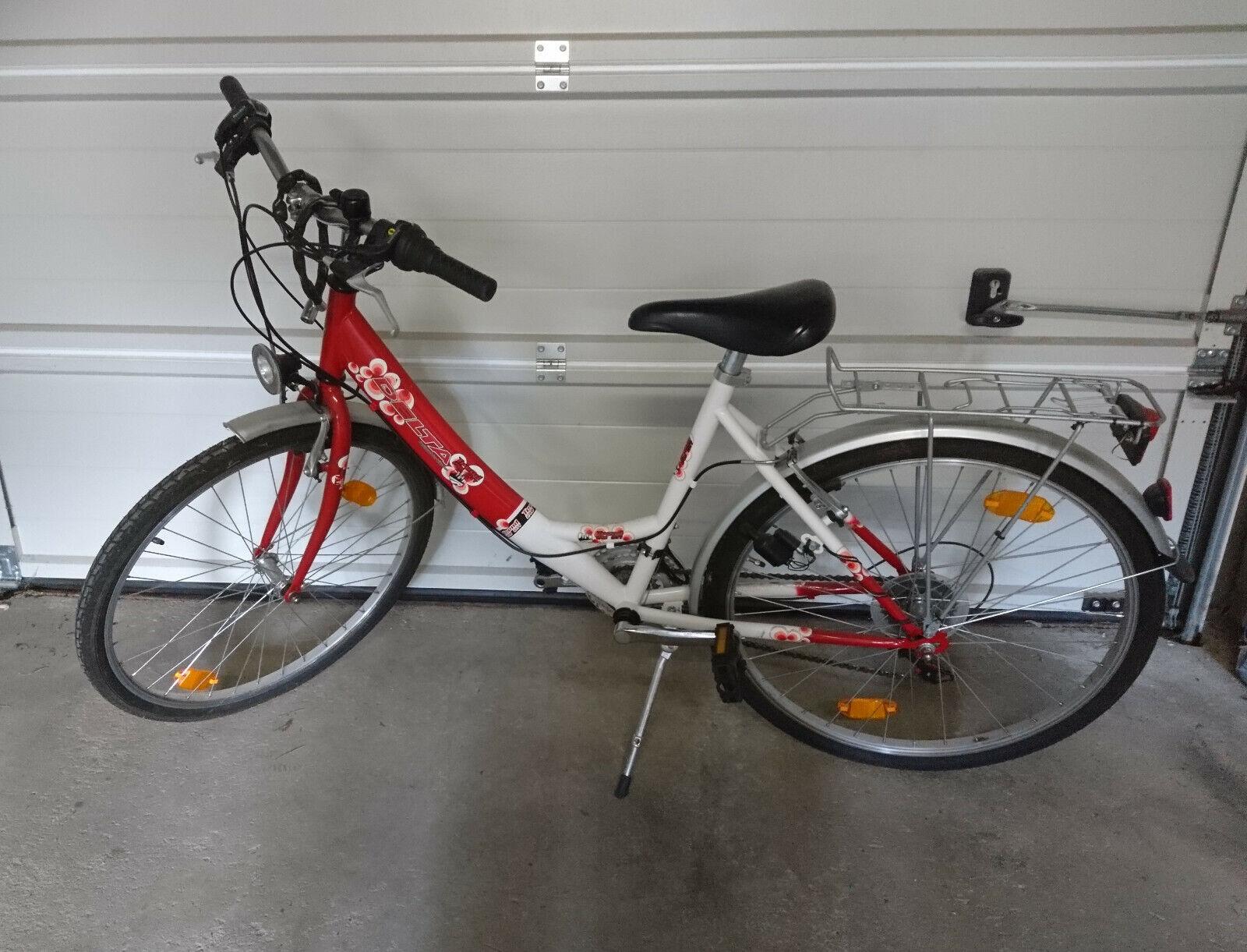 Damen Mädchenfahrrad  18 Gang  Delta FAHRRAD 26 ZOLL   Bike