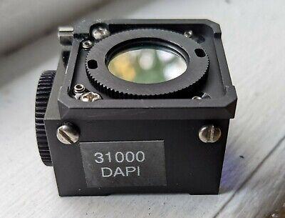 Nikon Microscope Fluorescence Filter Dapi 31000 For Diaphot 200 300