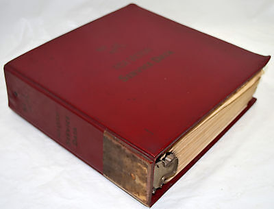 1959 RCA Victor Repair Service Data Manuals Mostly TV Large 3 Ring Binder 9 lbs