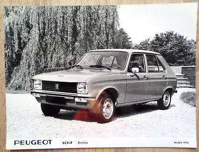 P0272 PEUGEOT 104 BERLINE