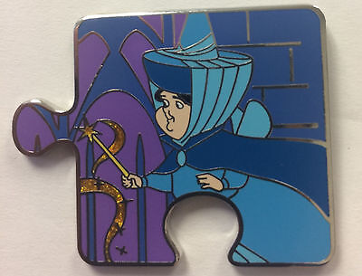 Disney Parks Sleeping Beauty MERRYWEATHER Character Mystery Puzzle LE Pin
