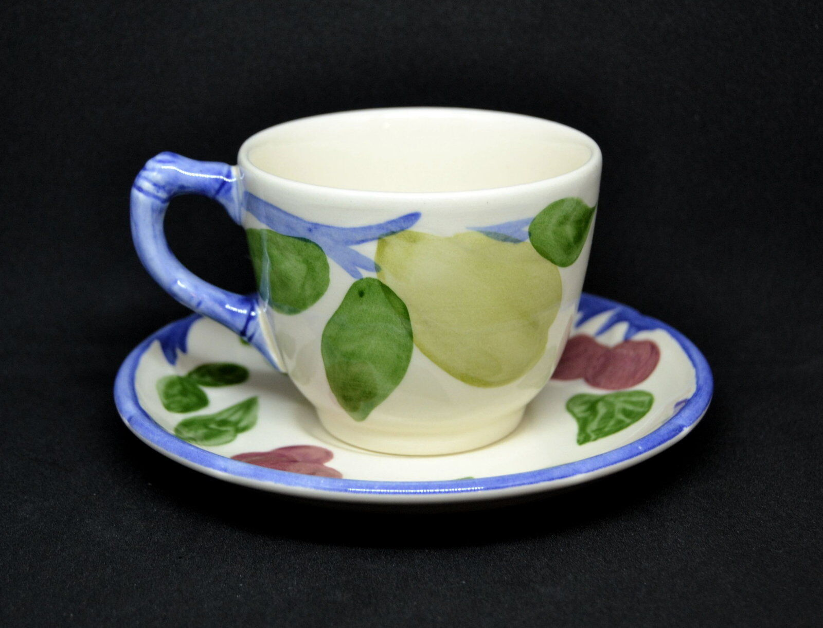 Franciscan Orchard Glade Cup And Saucer England - $6.50