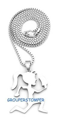 Small Pendant Box - Juggalette Necklace Small Pendant With Hatchet 24 Inch Box Style Chain Insane