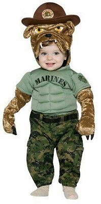 Military Mascot Marine Chesty Toddler Costume - Toddler Marine Costume