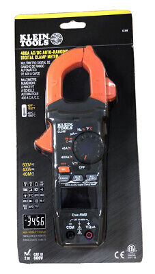 Klein Tools Cl390 Digital Clamp Meter Auto Ranging 400 Amp