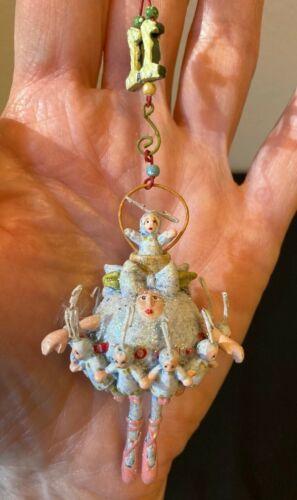 Mini Krinkles Patience Brewster 12 Days of Christmas 11 Ladies Dancing Ornament