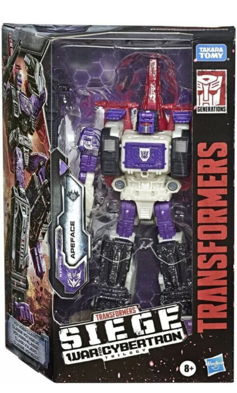Transformers Siege War For Cybertron VOYAGER APEFACE Figure WFC-S50 Hasbro NIB