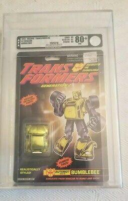 Transformers Generation 2 Bumblebee (Hasbro 1992) AFA 80+ 80/85/90
