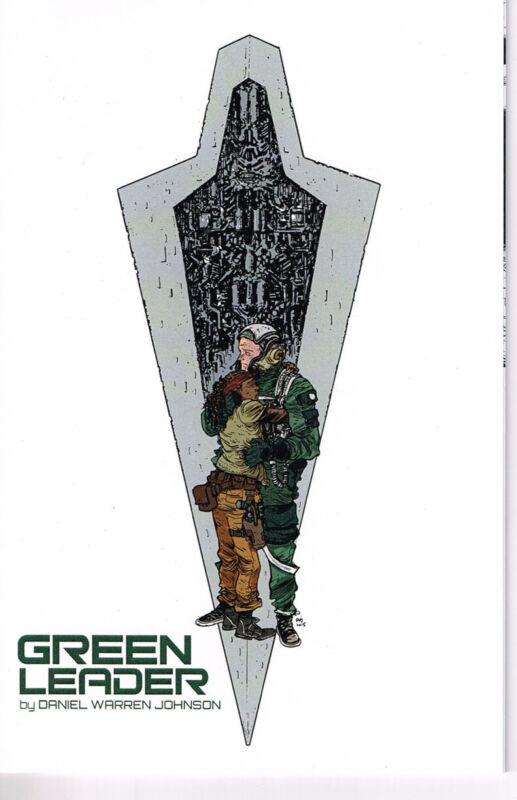Green Leader Ashcan Comic Daniel Warren Johnson w/ Original Sketch NM Star Wars