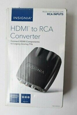 Used, Insignia HDMI to RCA Converter Works With RCA Outputs NS-HZ331 for sale  Shipping to India