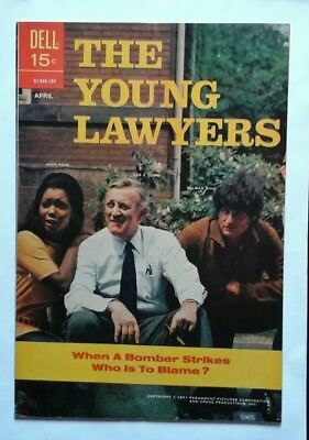 THE YOUNG LAWYERS  # 2 VERY FINE  MINUS 1971 FILE COPY