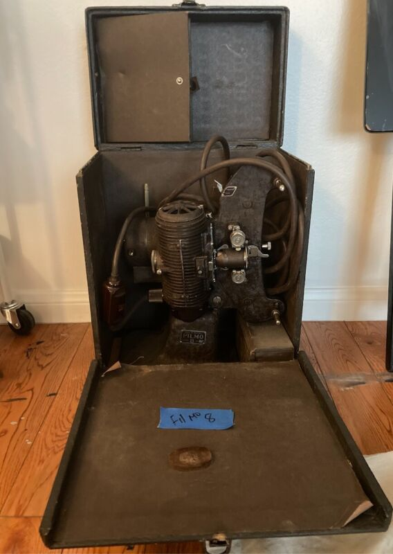 Antique Bell and Howell 8mm projector Chicago 1930's in original box