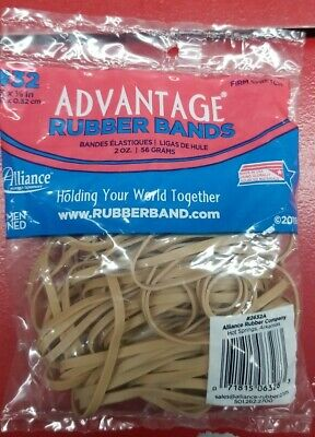 Rubber Bands Size 32 Heavy Duty Made In Usa 18 Lb Firm Stretch