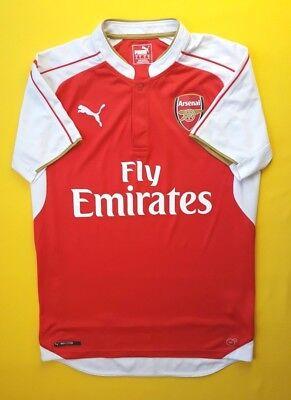 a4243159c 4.9 5 Arsenal jersey small 2015 2016 home shirt Puma soccer football ig93