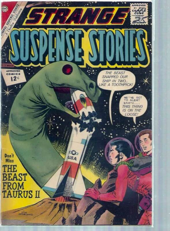 STRANGE SUSPENSE STORIES # 62