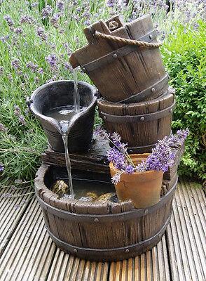 Ubbink Gartenbrunnen Wasserspiel Halifax mit Pumpe NEUWARE