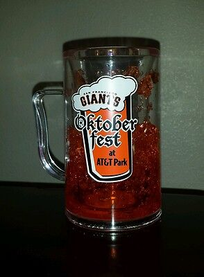 San Francisco Giants Oktoberfest Plastic Beer Stein Mug