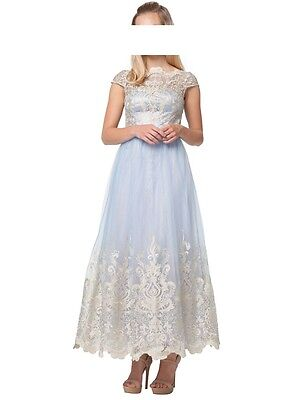 Designer Kleid Chi Chi London Seren Größe 40/ UK 14 NEU