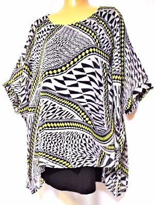 TS top TAKING SHAPE VIRTU plus sz XXS, XS, S / 12, 14, 16 Mosaic Top 2in1 NWT!