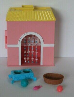 Mattel Barbie Dream Kitty Condo Playset Pink House Basket Toys RARE