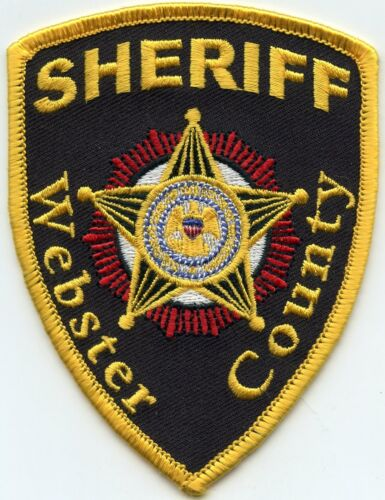 WEBSTER COUNTY MISSISSIPPI MS SHERIFF POLICE PATCH