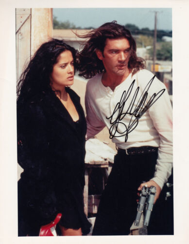Antonio Banderas Signed Once Upon a Time in Mexico 10x8 Photo AFTAL & UACC + COA