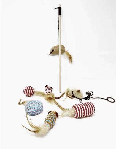 CatNip Cat Toys Mouse Set 7pc Set  - $20.00